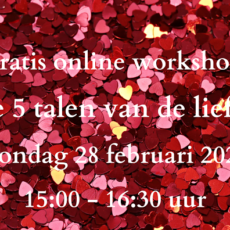 Online Workshop 28 februari 15.00 uur
